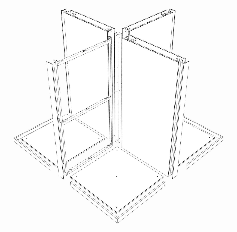 Exemplo de configuração tipo X